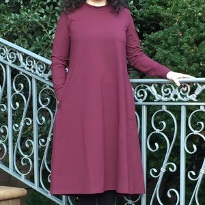Modest Tunic Dress, New